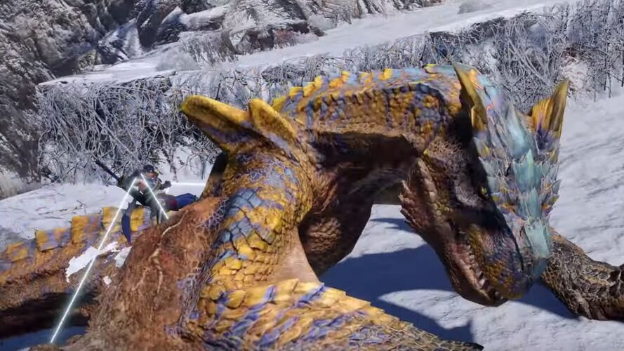 monster hunter rise wyvern riding combat feature revealed in livestream feature 951e5