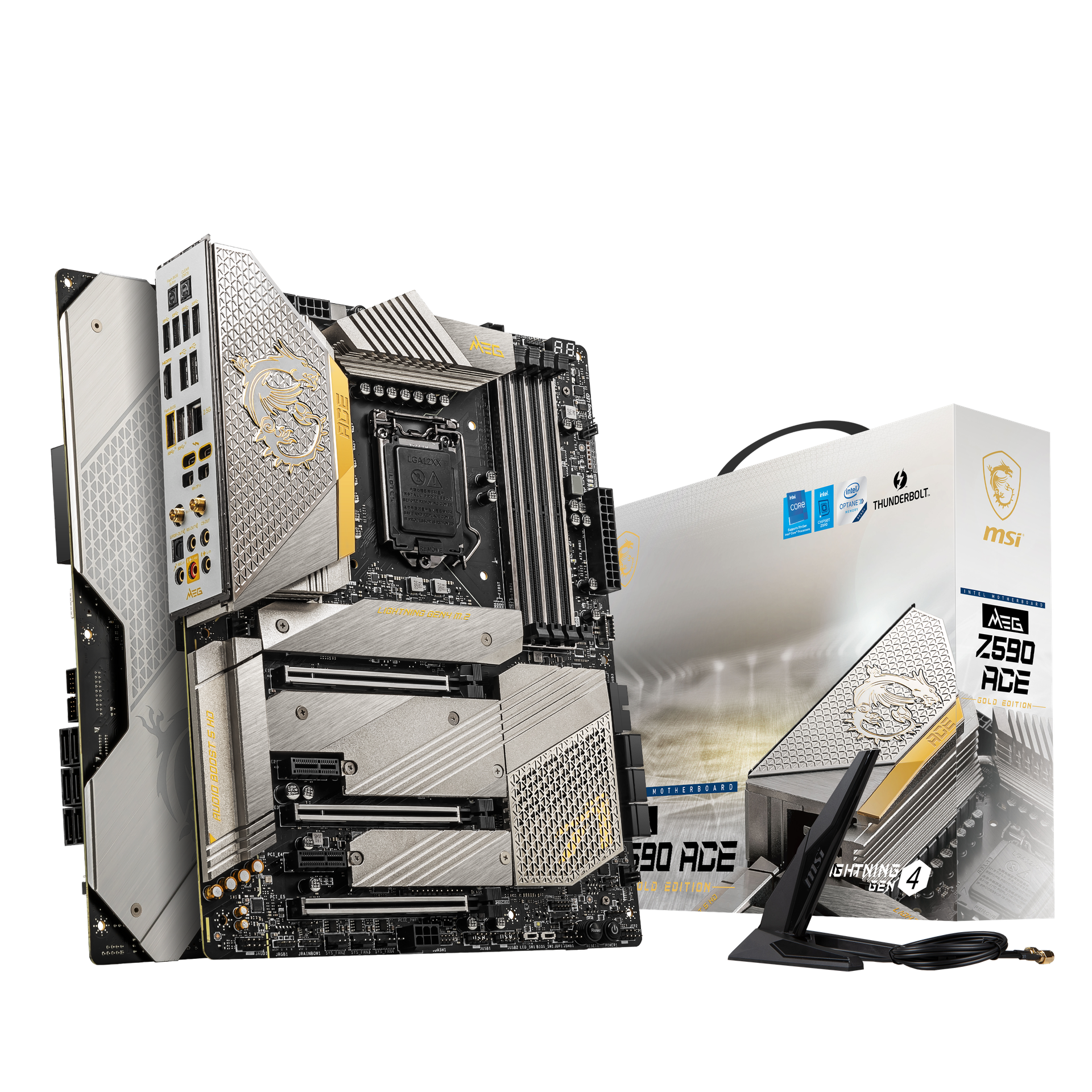 MSI MEG Z590 ACE GOLD EDITION dc59d